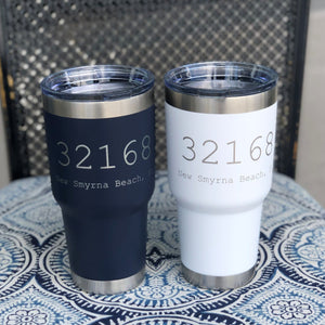 New Smyrna Beach Zip Code Tumbler