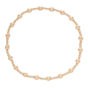 Dignity Sincerity Gold Bracelet