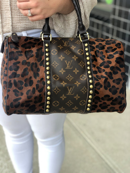 Repurposed Louis Vuitton Speedy