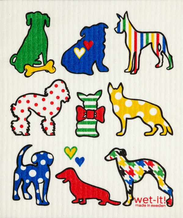Dog Lover Multi Color Cloth