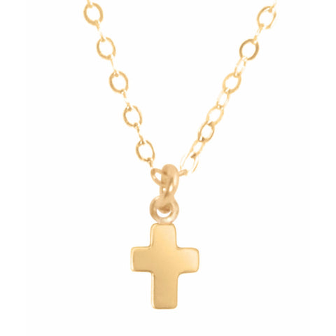 Enewton Believe Gold Charm Necklace