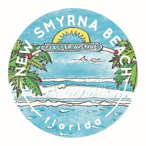 Jelly Press New Smyrna Beach Sticker