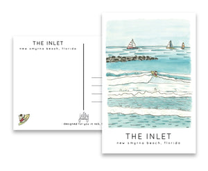 Jelly Press The Inlet Postcard