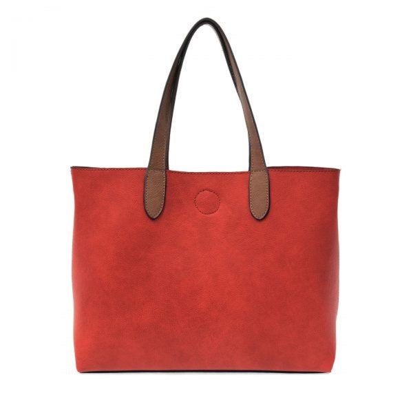 Joy Susan Mariah Tote Bag red coffee front