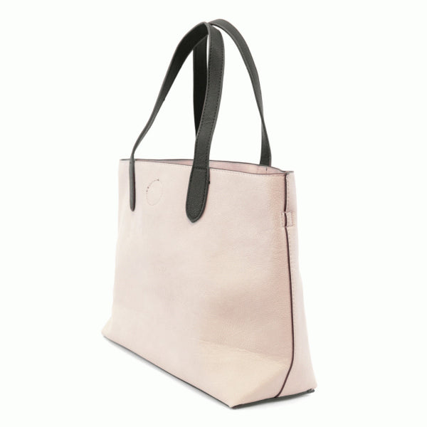 Joy Susan Mariah Tote Bag stone black side