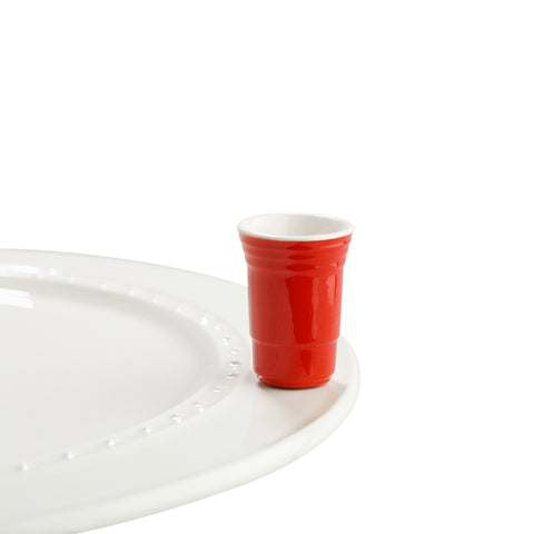 Nora Fleming Fill Me Up Red Solo Cup Attachment