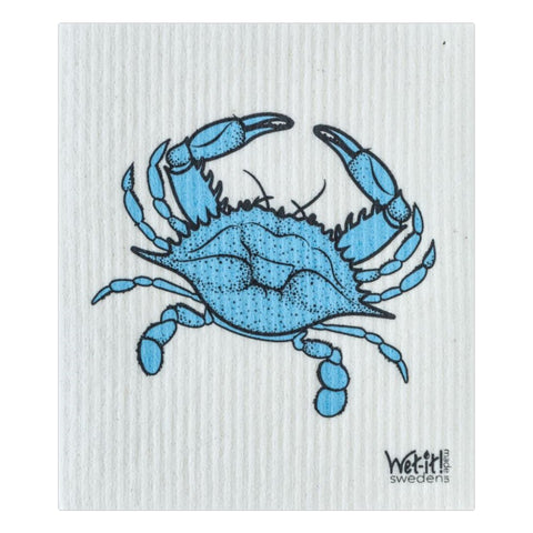 Wet It Cloths Blue Crab