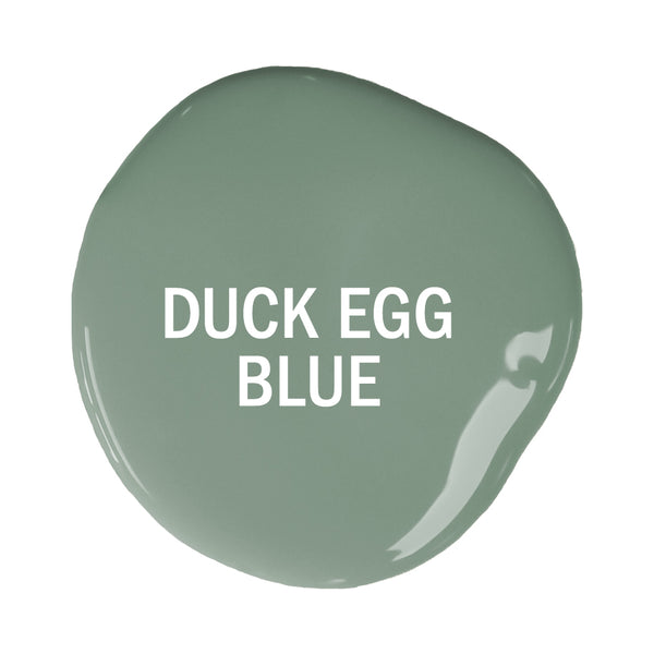 Duck Egg Blue Sample Pot
