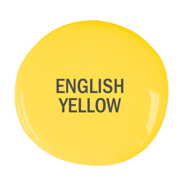 English Yellow Sample Pot