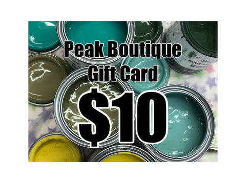 Gift Card $10 (in store)