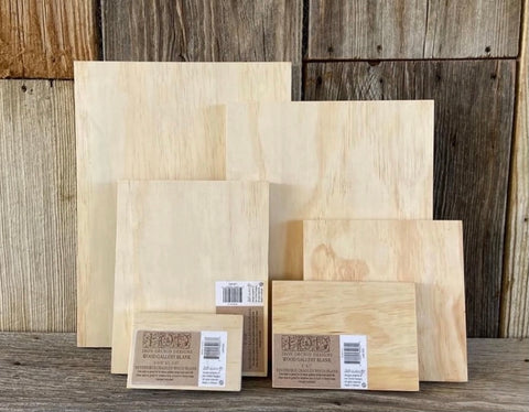 IOD Wooden Blanks, assorted sizes