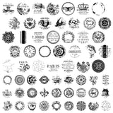 "IOD Knob Toppers Decor Stamps 12"" x 12"""