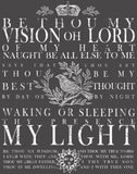 "IOD Be Thou My Vision Decor Transfer 11"" x 14"""
