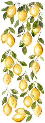 "IOD Lemon Drops Decor Transfer 12"" x 33"""