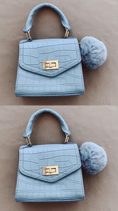 "P101 ""Baby Blue Hush Bag"""