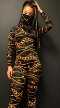 Load image into Gallery viewer, Versace Jumpsuit/Scarf Mask Combo