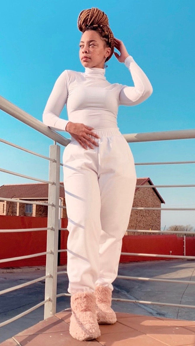 Jogger & Polo Neck Set Sale