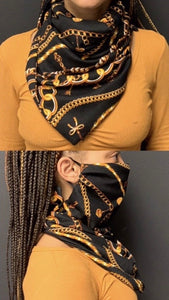Versace Scarf Mask