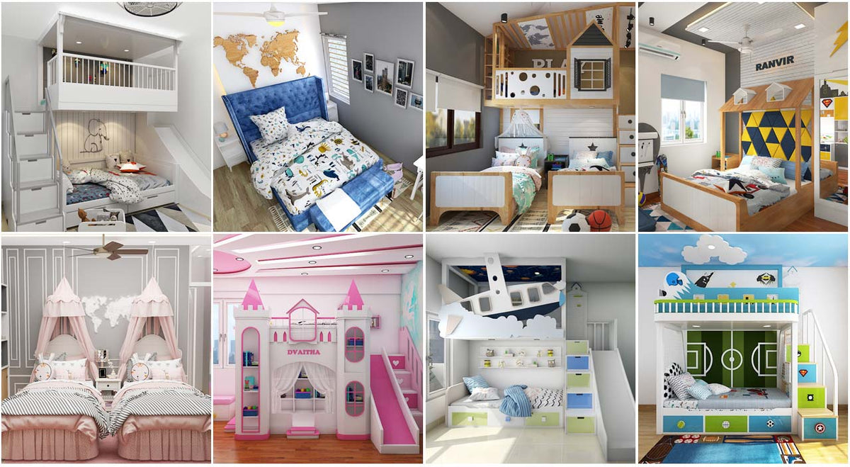 Picture of: 10 Different Types Of Kids Beds Magical Nest