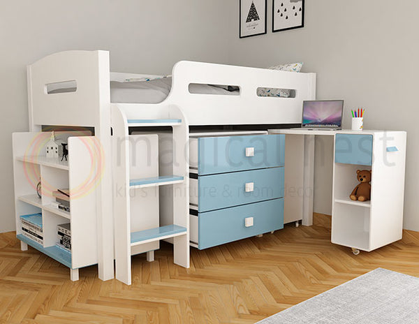 Nova Bed With Desk