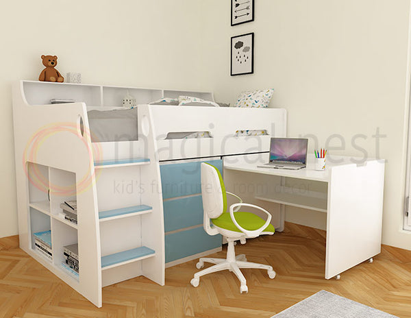 Kapili Bed With Desk