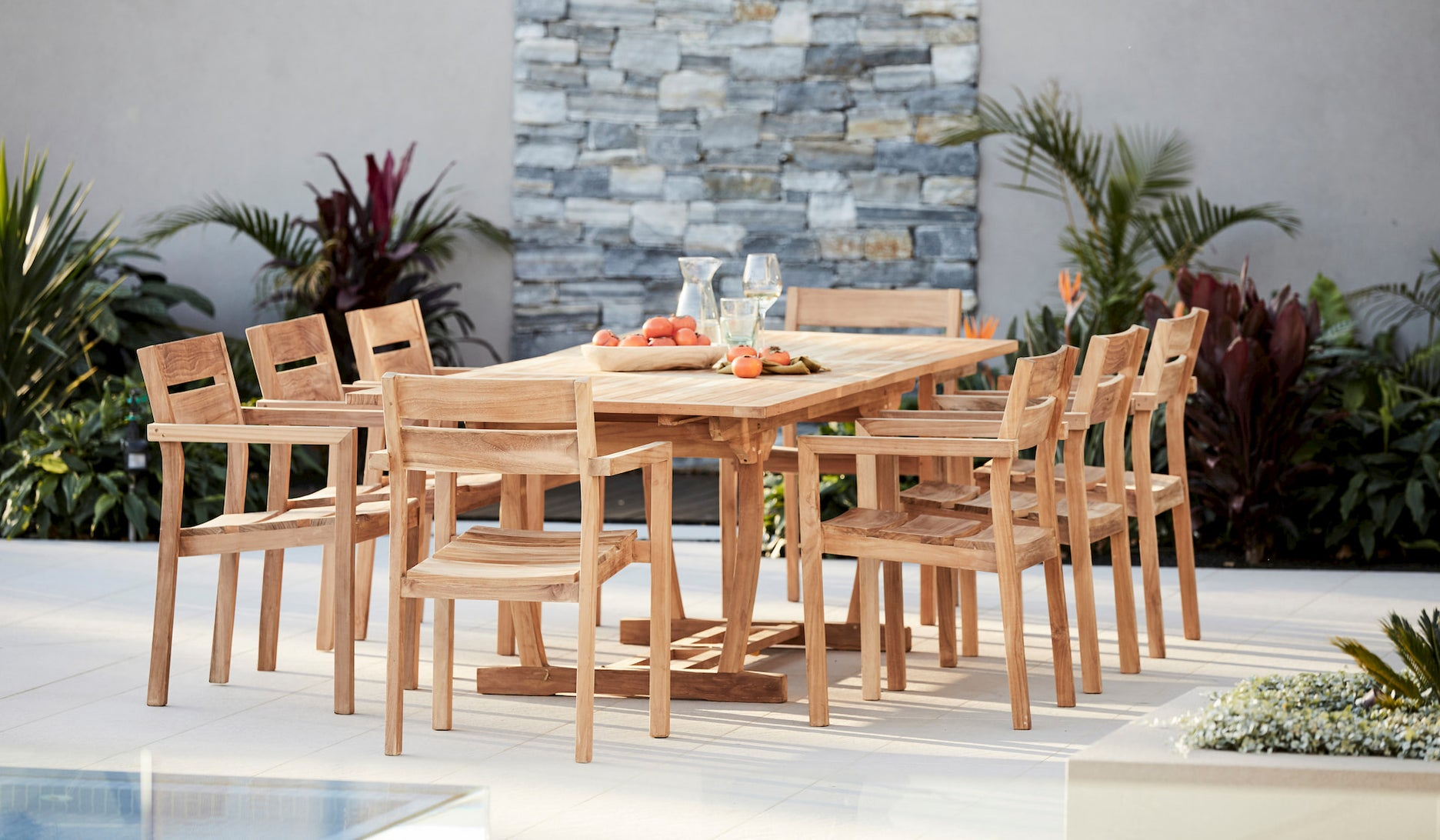 6 Reasons To Buy Outdoor Teak Furniture Woodbury Furniture