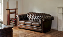 Load image into Gallery viewer, Chesterfield-Leather-Sofa-Kingston-3Seater-r2