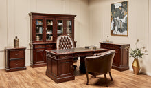 Load image into Gallery viewer, Chesterfield-Leather-Wellington-Tub-Chair-r2