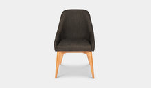 Load image into Gallery viewer, Dining-Chair-Black-Fabric-Collaroy-r3