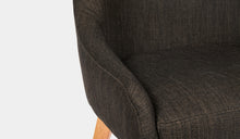 Load image into Gallery viewer, Dining-Chair-Black-Fabric-Collaroy-r6