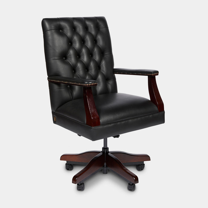 Leather Office Chair in Australian Leather