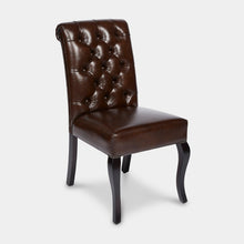 Load image into Gallery viewer, Leather-indoor-dining-Chair-Erica-r1