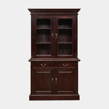 Load image into Gallery viewer, Mahogany-2-Door-Bookcase-Everingham-r1