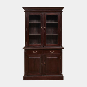 Mahogany-2-Door-Bookcase-Everingham-r1