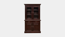 Load image into Gallery viewer, Mahogany-2-Door-Bookcase-Everingham-r3