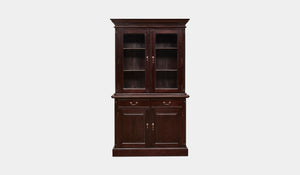 Mahogany-2-Door-Bookcase-Everingham-r3
