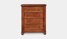 Load image into Gallery viewer, Mahogany-4Drawer-Tallboy-Chelmsford-r4