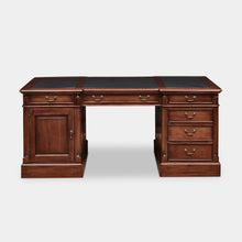 Load image into Gallery viewer, Mahogany-executive-desk-Everingham-r1
