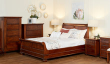 Load image into Gallery viewer, Mahogany-queen-Sleigh-Bed-Chelmsford-LTBL-r2