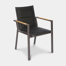 Load image into Gallery viewer, Outdoor-Dining-Chair-Black-Rockdale-r1
