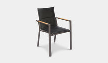 Load image into Gallery viewer, Outdoor-Dining-Chair-Black-Rockdale-r6