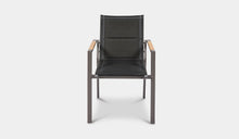 Load image into Gallery viewer, Outdoor-Dining-Chair-Black-Rockdale-r7