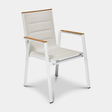 Load image into Gallery viewer, Outdoor-Dining-Chair-Mackay-White-r1