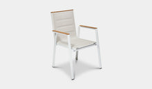 Load image into Gallery viewer, Outdoor-Dining-Chair-Mackay-White-r3