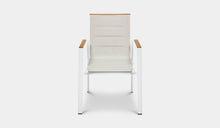 Load image into Gallery viewer, Outdoor-Dining-Chair-Mackay-White-r4