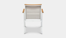 Load image into Gallery viewer, Outdoor-Dining-Chair-Mackay-White-r5