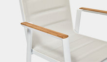 Load image into Gallery viewer, Outdoor-Dining-Chair-Mackay-White-r6