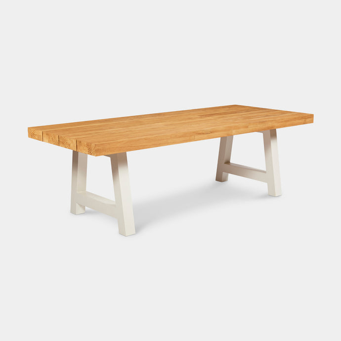 Crosstie Teak Outdoor Dining Table 240cm