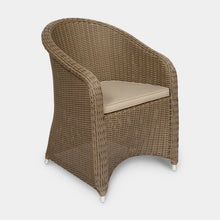 Load image into Gallery viewer, Outdoor-Wicker-Dining-Chair-KubuCappuccino-r1