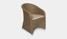 Load image into Gallery viewer, Outdoor-Wicker-Dining-Chair-KubuCappuccino-r2